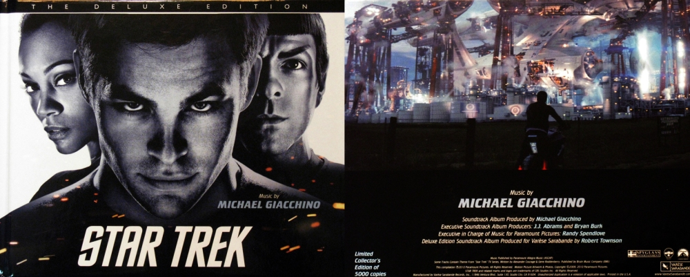 Star Trek: The Deluxe Edition, Soundtrack Review (1/5)