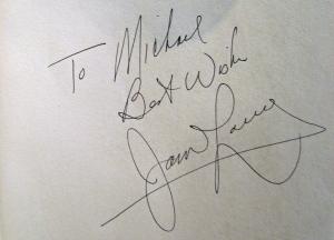 Jim Lovell Autograph