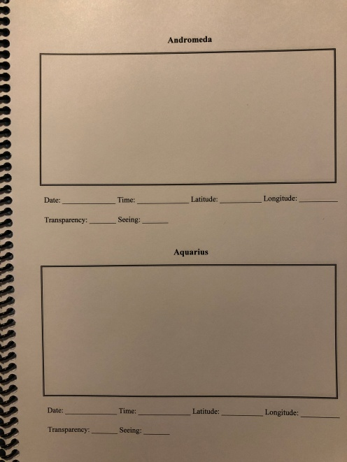 Constellation Logbook