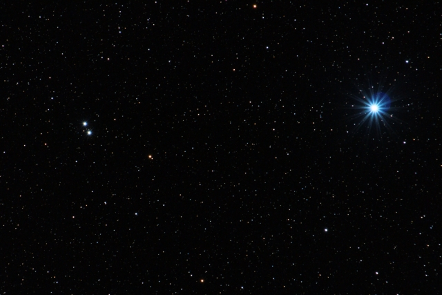 Vega and Epsilon Lyrae