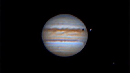 Jupiter's Transit of Io