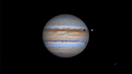 Jupiter's Transit of Io