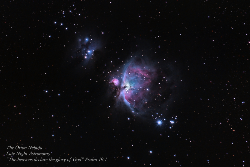 The Orion Nebula Post