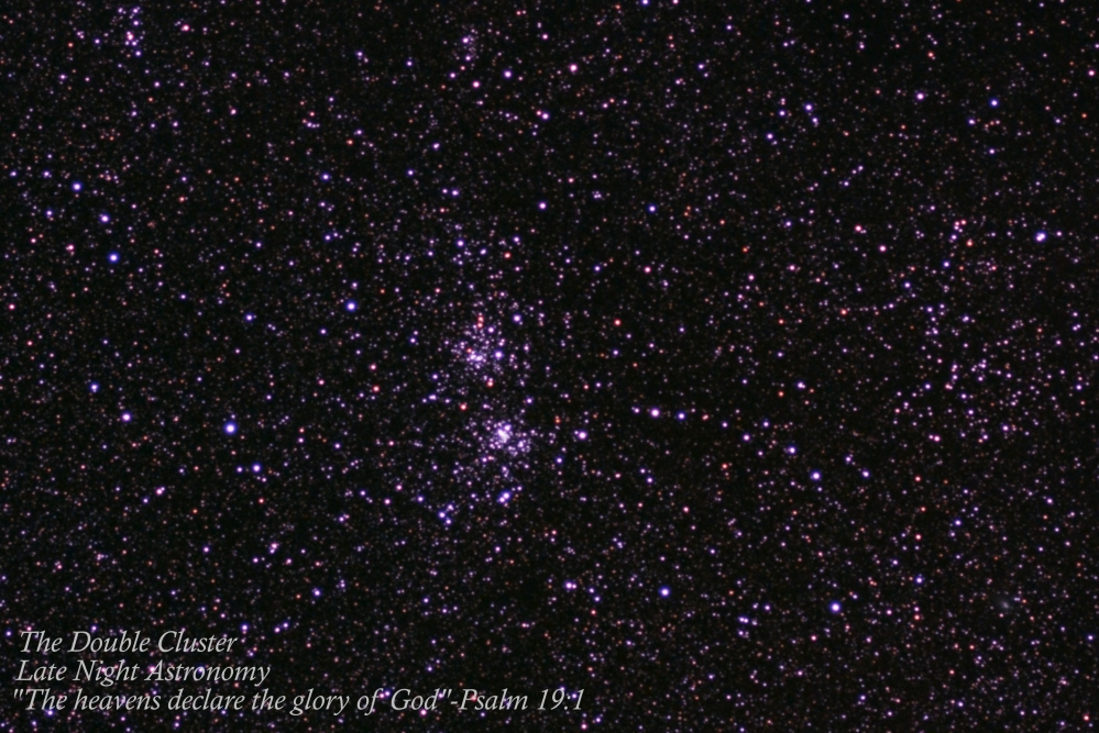 The Double Cluster Cropped